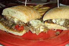 フィリー・チーズステーキ・サンドイッチ