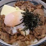 牛力丼(白)